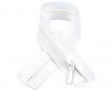1 Polyesterreißverschluss - 25cm - Nicht Teilbar - Nahtfein -  Hochwertig - Prym - Weiß (009)