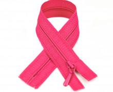 1 Polyesterreißverschluss - 40cm - Nicht Teilbar - Nahtfein -  Hochwertig - Prym - Pink (786)