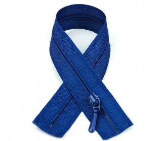 1 Polyesterreißverschluss - 60cm - Nicht Teilbar - Nahtfein -  Hochwertig - Prym - Blau (223)