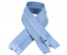 1 Reißverschluss - 60cm - Teilbar - Hochwertig - Prym - Taubenblau (235)
