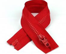 1 Reißverschluss - 65cm - Teilbar - Hochwertig - Prym - Rot (722)