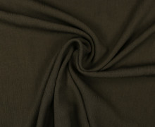 Viskose Krepp - Crash - Uni - Nicht elastisch - Dunkelbraun