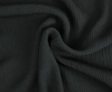 Viskose Krepp - Crash - Uni - Nicht elastisch - Schwarz