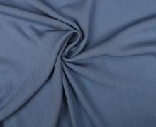 Viskose Krepp - Crash - Uni - Nicht elastisch - Taubenblau