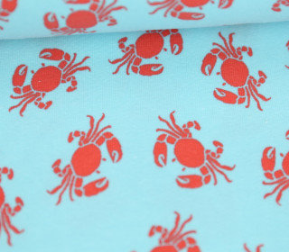 Jersey - Krabben - Crabs - Colourful Things - Hellblau