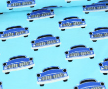 Jersey - Autos - Cars - Colourful Things - Hellblau