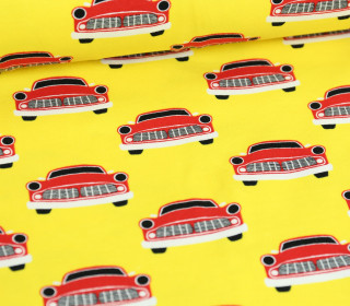 Jersey - Autos - Cars - Colourful Things - Gelb