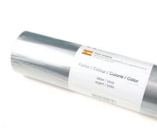 Glänzende Vinylfolie - 21x300cm - Silber