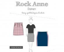 Papier-Schnittmuster - Rock - Anne - Damen - 32-58 - Fadenkäfer