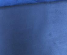 Kunstleder - Alaska - Double Face - Velours - Blau/Dunkelblau