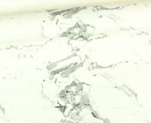 Kunstleder - Marbre - Marmor-Look- Schwarz/Weiß