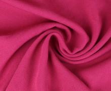 Viskose Krepp - Uni - Nicht elastisch - Pink