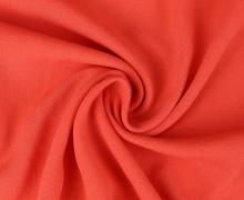 Viskose Krepp - Uni - Nicht elastisch - Apricot/Orange