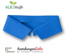 Bio-Polokragen - Uni - L - Polo Me - Hamburger Liebe - Blau