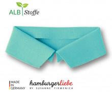 Bio-Polokragen - Uni - S - Polo Me - Hamburger Liebe - Mint