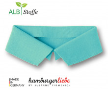 Bio-Polokragen - Uni - L - Polo Me - Hamburger Liebe - Mint