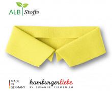 Bio-Polokragen - Uni - S - Polo Me - Hamburger Liebe - Gelb