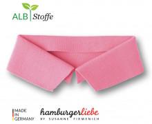 Bio-Polokragen - Uni - S - Polo Me - Hamburger Liebe - Rosa