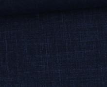 Modal - schwere Qualität - Modal Romanit - Jeansoptik - Meliert - Dunkelblau