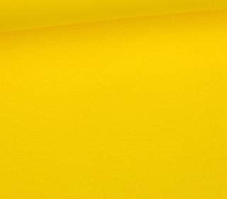Glattes Bündchen - Uni - Schlauchware - Gelb