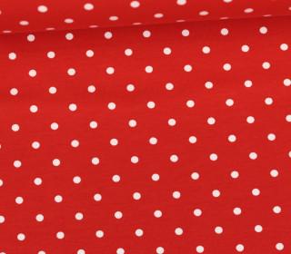 Jersey - Punkte - Mittel - Rot/Weiß