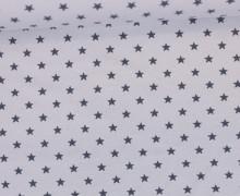Jersey - Sterne - Klein - Hellgrau/Grau