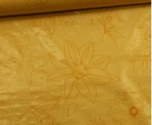Wachstuch - Blüten - Palmas - Gelb