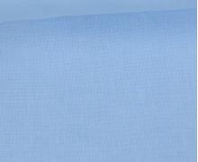 Schöner Baumwollstoff - Uni - 140cm - Pastellblau