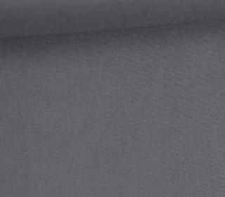Schöner Baumwollstoff - Uni - 140cm - Grau