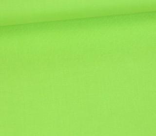 Schöner Baumwollstoff - Uni - 140cm - Gelbgrün