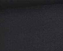 Schöner Baumwollstoff - Uni - 140cm - Schwarz