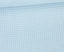 Waffel Piqué - Baumwolle - Babyblau