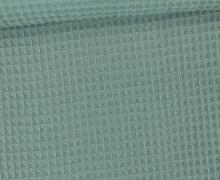 Waffel Piqué - Baumwolle - Lichtgrün
