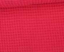 Waffel Piqué - Baumwolle - Fuchsia