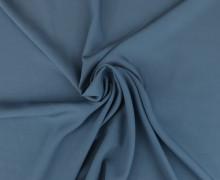 Viskose - Blusenstoff  - Uni - Taubenblau