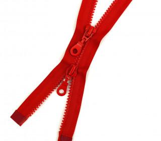 1 Zweiwege Reißverschluss - 55cm - Teilbar - Hochwertig - Prym - Rot (722)