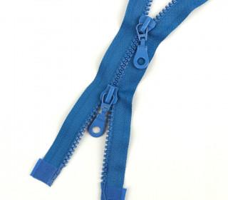 1 Zweiwege Reißverschluss - 80cm - Teilbar - Hochwertig - Prym - Blau (235)