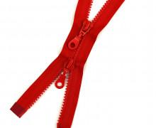 1 Zweiwege Reißverschluss - 90cm - Teilbar - Hochwertig - Prym - Rot (722)