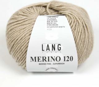 Strickgarn - LANGYARNS MERINO - 120m - 100% Schurwolle - No Mulesing - Sand (34.0226)
