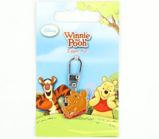 1 Zipper Anhänger - Metall - Hochwertig - Prym - Disney - Winnie The Pooh - Bunt