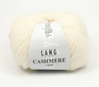 Strickgarn - LANGYARNS CASHMERE Light - 85m - Warmweiß (950.0094)