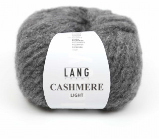 Strickgarn - LANGYARNS CASHMERE Light - 85m - Grau (950.0005)