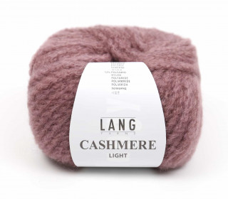 Strickgarn - LANGYARNS CASHMERE Light - 85m - Altrosa Dunkel (950.0048)