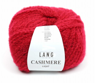 Strickgarn - LANGYARNS CASHMERE Light - 85m - Rot (950.0061)