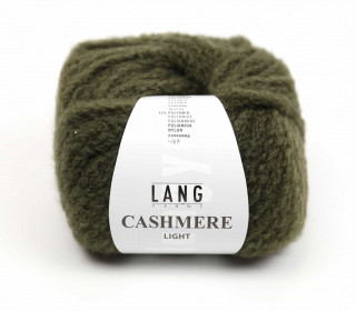 Strickgarn - LANGYARNS CASHMERE Light - 85m - Olivgrün (950.0098)
