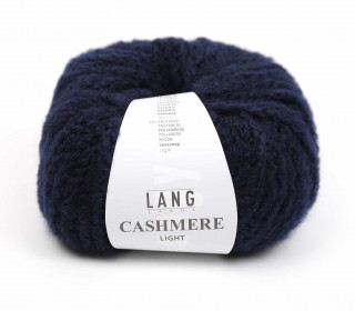 Strickgarn - LANGYARNS CASHMERE Light - 85m - Nachtblau (950.0025)