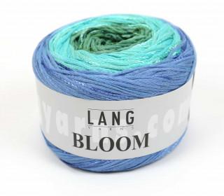 Strickgarn - LANGYARNS BLOOM - 450m - Mehrfarbig - Farbverlauf Hellblau (1010.0073)