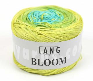 Strickgarn - LANGYARNS BLOOM - 450m - Mehrfarbig - Farbverlauf Gelbgrün (1010.0044)