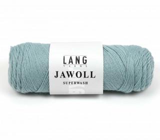 Strickgarn - LANGYARNS JAWOLL - 210m - 75% Schurwolle - Inkl. 5g Spule Beilaufgarn - Lichtgrün Hell (83.0372)