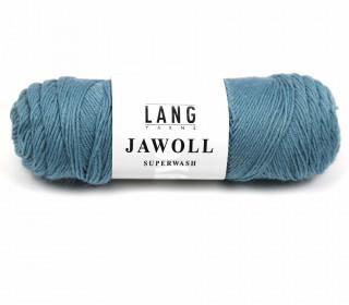 Strickgarn - LANGYARNS JAWOLL - 210m - 75% Schurwolle - Inkl. 5g Spule Beilaufgarn - Lichtgrün Dunkel (83.0388)